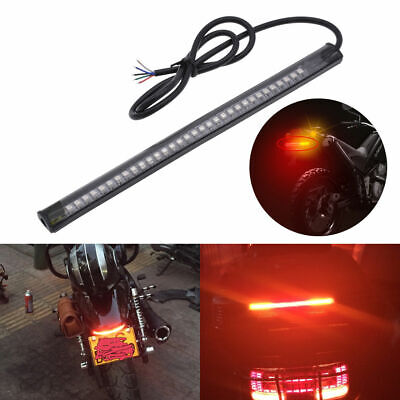 Universal 8inch 48LED Motorcycle Light Strip Tail Brake Stop Turn Signal For BMW