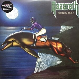 Nazareth-The-Fool-Circle-180g-LTD-Coloured-Vinyl-2LP-2011-Back-On-Black