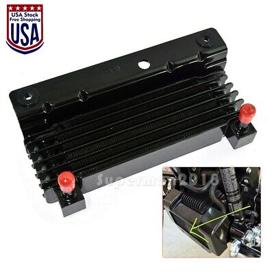 Motorcycle Oil Cooler Fit For Harley Touring Road King Road Electra Glide 09-16