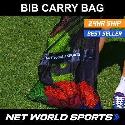 Football Training Bib Carry Bag - Lightweight Transport Bag [Net World Sports]