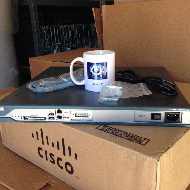 Bundled Cisco C2811-vsec/k9 2811 Sec Router Pvdm2-16 Cisco2811 Cme 8.6 Installed