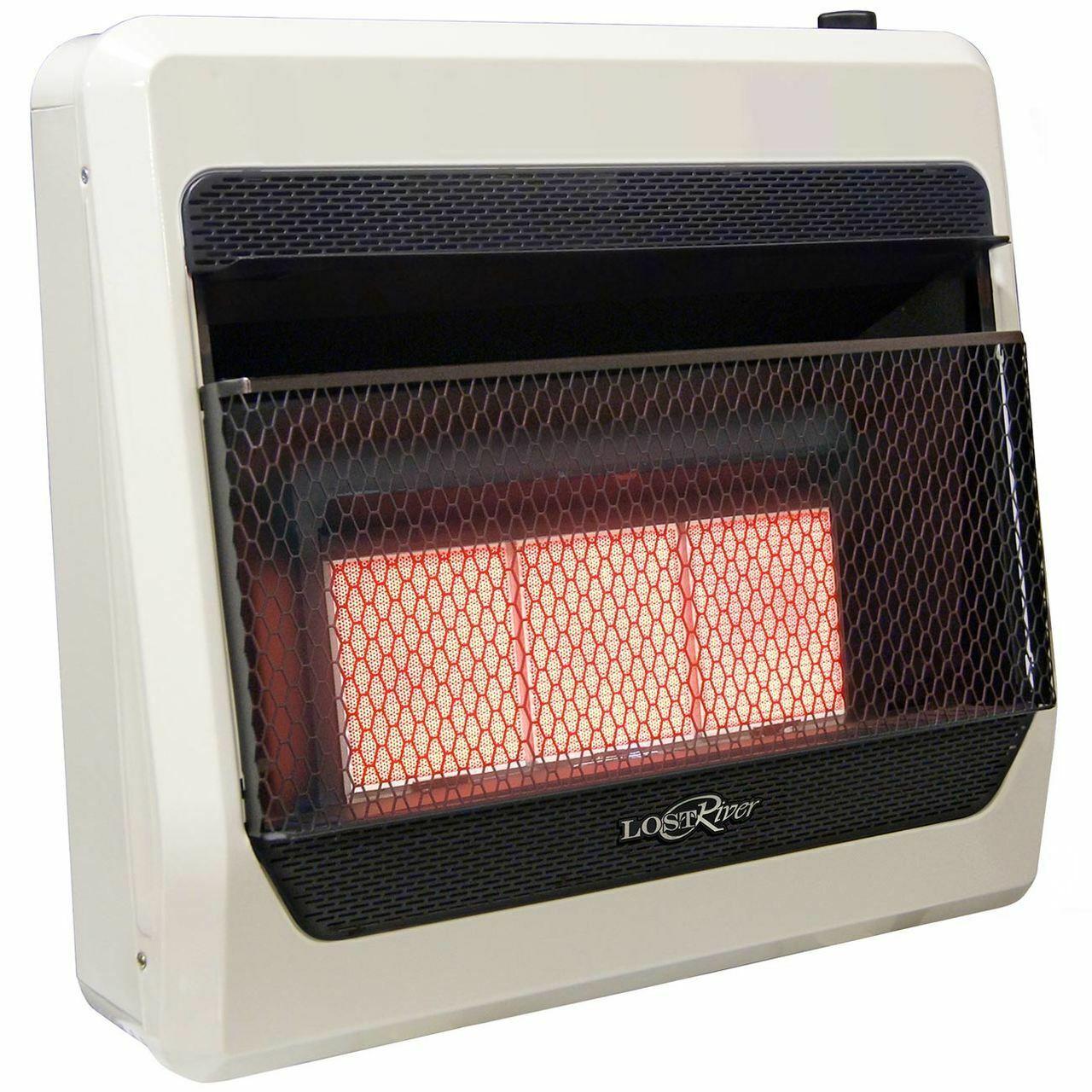 Lost River LR3TIR Ventless Propane Infrared Plaque Heater, V