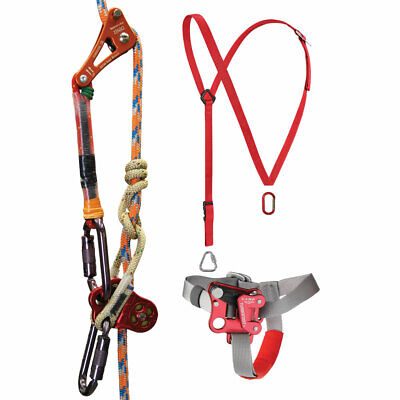Tree Workers Rope Climbing Kit Rope Wrench Kit