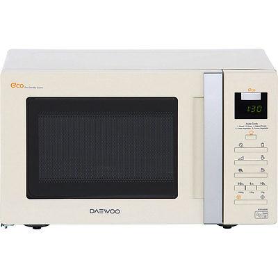 Daewoo KOR6A0RC 800 Watt Microwave Free Standing Cream New from AO