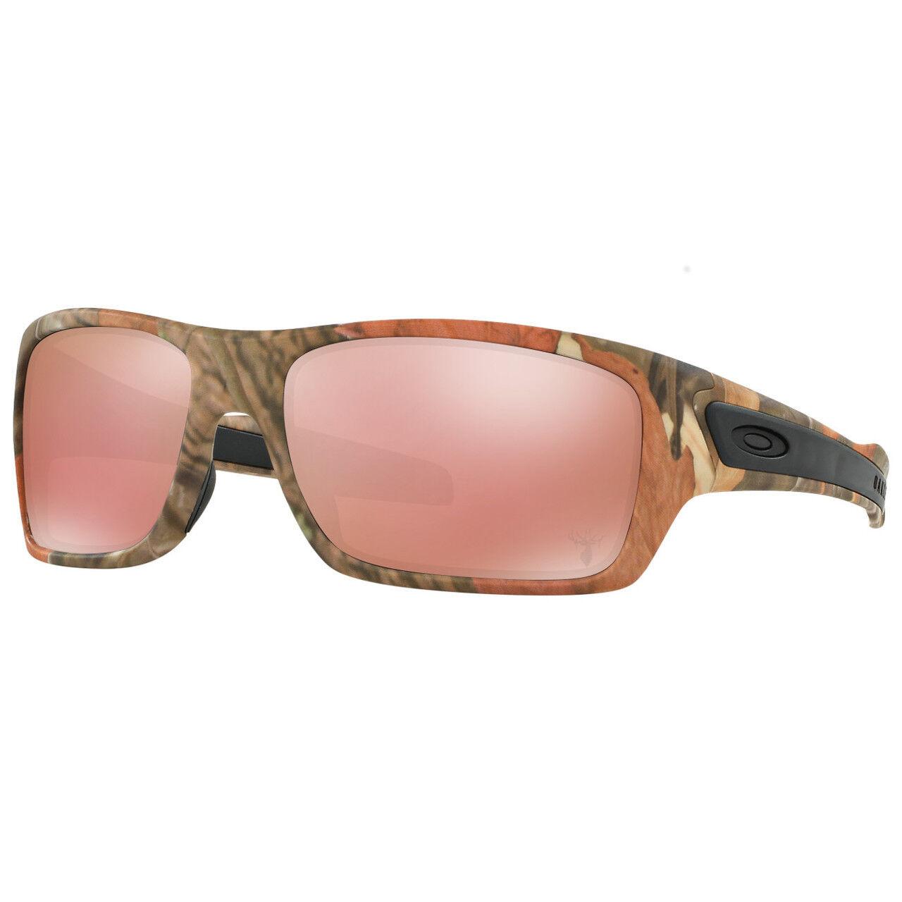 49cafe6788 Oakley Turbine Woodland Camo Vr28 Black Iridium Sports Sunglasses ...
