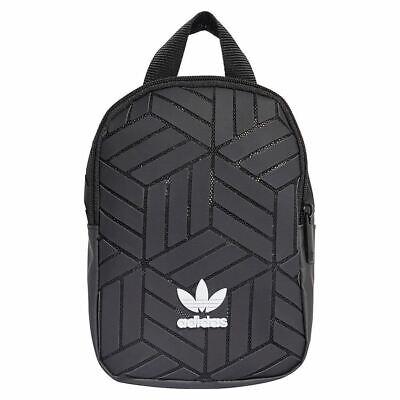 Adidas 3D Mini Backpack Black Rucksack Festival/Day Bag Issey Miyake Style