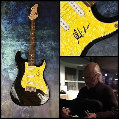 GFA Jethro Tull Guitarist * MARTIN BARRE * Signed Electric Guitar PROOF M2 COA