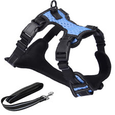 Dog Harness-3M Reflective Outdoor Adventure Pet Vest with Padded Handle, Size S