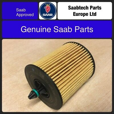 Genuine Saab 93 9-3 B207 Petrol 2003-2012 Oil Filter 12605566