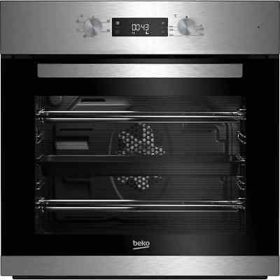 Beko BRIF22300X EcoSmart Built In 59cm Electric Single Oven Stainless Steel New