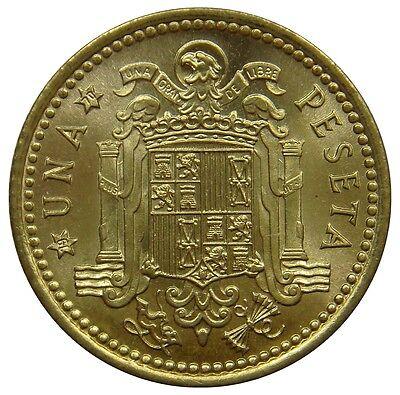(R15) - Spanien Spain - 1 Peseta 1966 (1970) - Francisco Franco - UNC - KM# 796