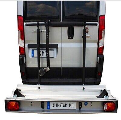 Motorradträger für Fiat Ducato X250 Kastenwagen inkl. Elektrosatz Nutzlast 150kg