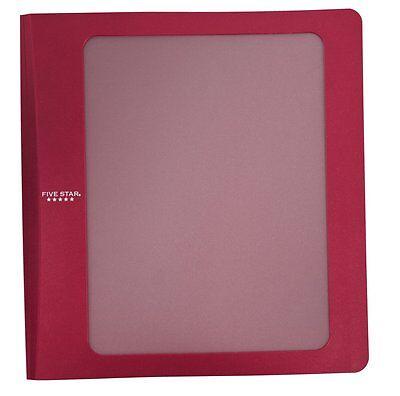 Five Star 1 12 Customizable Plastic Binder 29301 Mea-72417 Mea72417