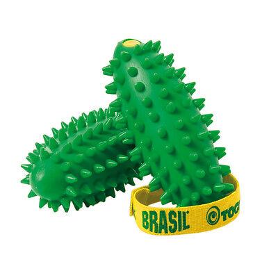 TOGU ® Brasil Massageball Noppenball Igelball 2 Stück mit Anleitung NEU+OVP