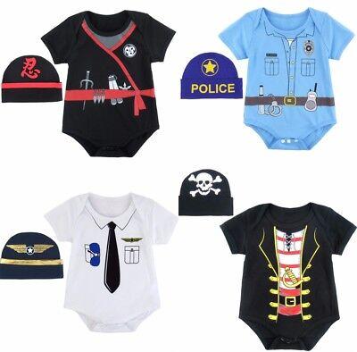 Newborn Baby Boy Girl Funny Ninja Uniform Romper Bodysuit Halloween - Funny Baby Boy Halloween Costumes