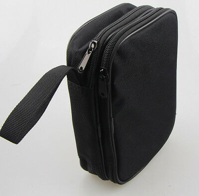 Double Layer Zipper Carrying Case Bag For Multimeters. Fits Ut61e Fluke 87v
