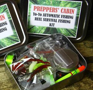 Extreme fishing survival kit with yo yo automatic fishing for Fishing yo yo