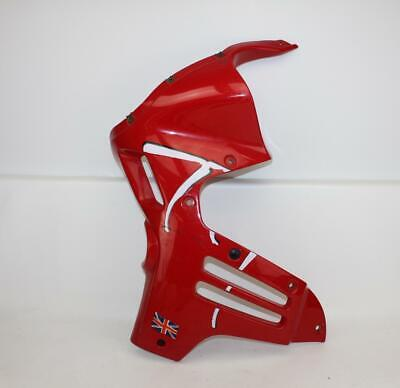 1995 TRIUMPH TIGER 900 FRONT LEFT OEM RED UPPER LEFT FRONT UPPER NOSE FAIRING CO