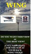1,2,3 or 4 WING West Coast Eagles v Melbourne Demons Tickets Subiaco Subiaco Area Preview