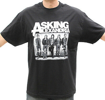 Asking Alexandria Post Hardcore Band Embroidered Graphic T Shirts