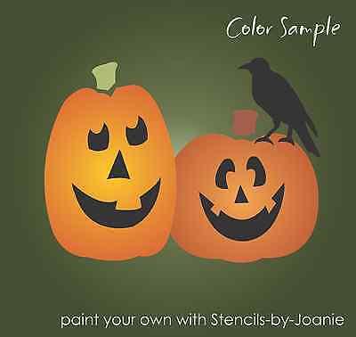 Country Halloween Stencils (Joanie Fall Stencil Halloween 4