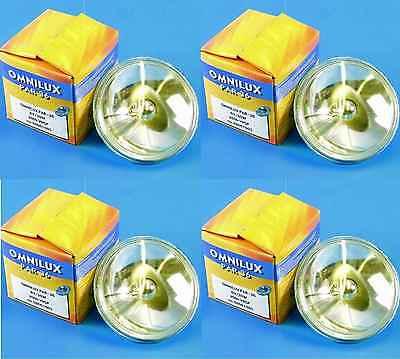 4x PAR-36 6,4 Volt 30 Watt Halogen - PAR 36 PIN SPOT Punktstrahler Leuchtmittel Par 36 Pin Spot
