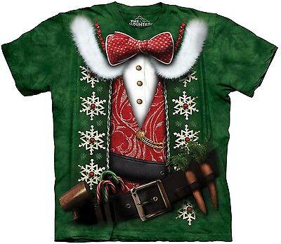 Funny Christmas Costume (Elf Costume Shirt, Christmas Cheer Shirt, Funny X-Mas T, Mountain Brand, Sm -)