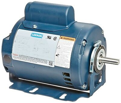 Leeson Electric Motor E119856.00 34 Hp 1725 Rpm 1-ph 115208-230 Volt 56 Frame