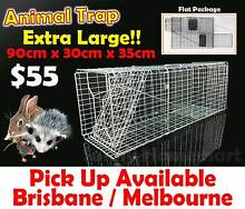 Large HUMANE LIVE ANIMAL TRAP POSSUM RATS CAT RABBIT HARE CATCHER Derrimut Brimbank Area Preview