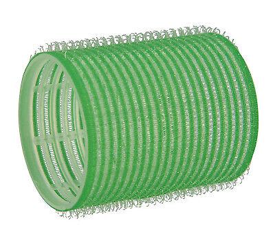 12 Haftwickler Klettwickler grün  48 mm selbsthaftend in Friseur Qualität
