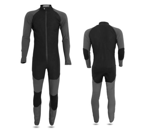 Skydiving jumpsuit Skydrive Product Black and Dark Grey Premium Look