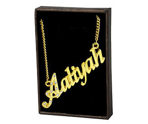 Name Necklaces Personalised Necklaces and more
