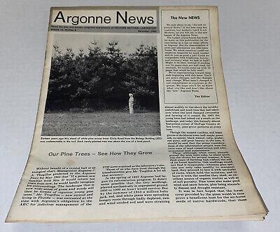 VTG 1969 Argonne National Laboratory Bubble Chamber Employee News Soviet Article