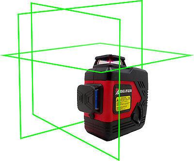 Beiter Tech. Bart-3dg Green Laser Level Tri-plane Green Laser Line Laser