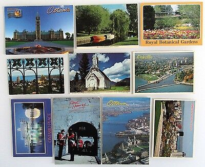 Lot Sammlung Canada Kanada 10x Postkarte ua. Quebec, British Columbia, Ontario