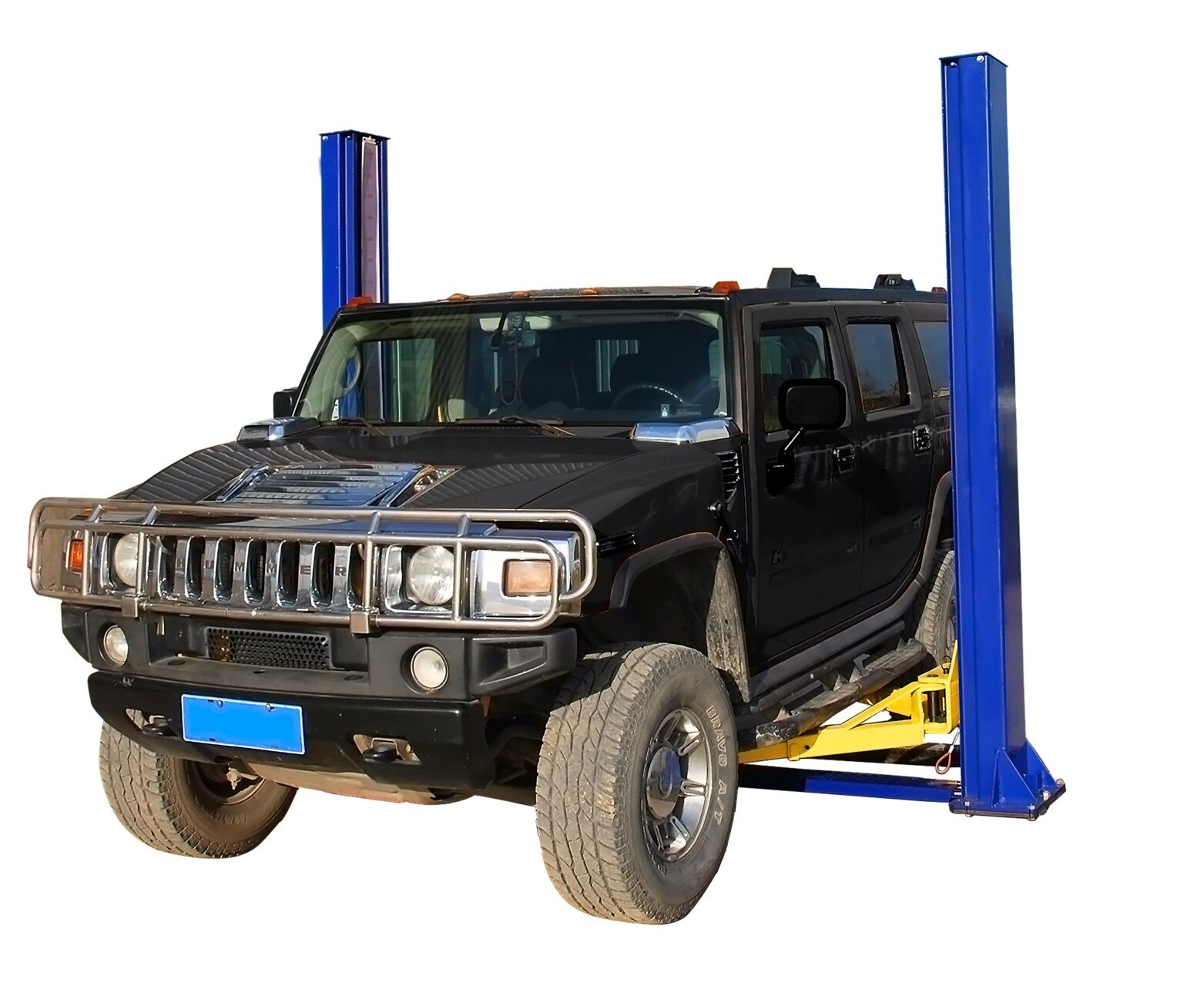Two Post Floor Plate Auto Hoist Car Lift 10000 Lb Capacity
