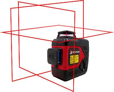 Beiter Tech. Bart-3d Red Laser Level Tri-plane Red Line Laser Level