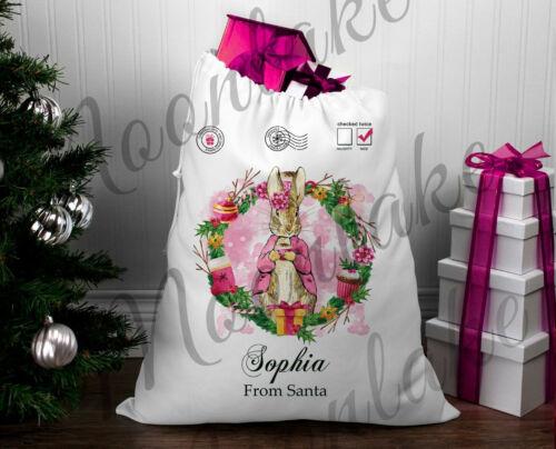Beatrix+Potter+Flopsy+Christmas.+Santa+Christmas+Sack+%7C+%7C+any+name
