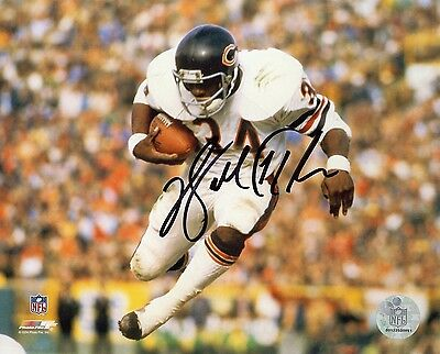 Walter Payton Chicago Bears 8x10 Autograph Photo Reprint