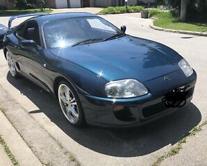1993 Toyota Supra mint original 65,000kms rare Baltic blue
