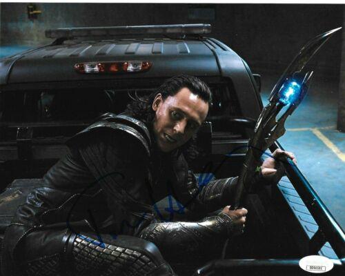 Tom Hiddleston Thor Loki Avengers Autographed Signed 8x10 Photo JSA