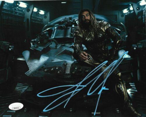 Jason Momoa Aquaman Autographed Signed 8x10 Photo JSA COA #AQ6