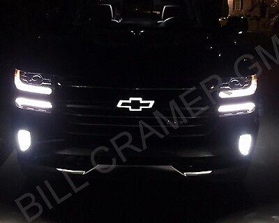 84129741 2016-2018 Chevrolet Silverado 1500 OEM Illuminated Black Bowtie NEW