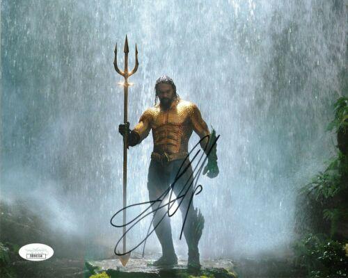 Jason Momoa Aquaman Autographed Signed 8x10 Photo jSA COA #CB12