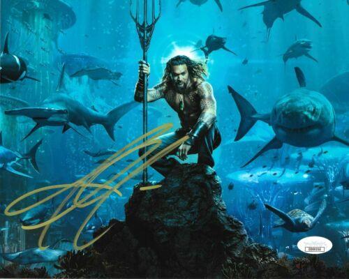 Jason Momoa Aquaman Autographed Signed 8x10 Photo JSA COA #MR226