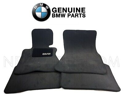 Genuine Set of 4 Carpeted Floor Mats For BMW E66 750Li 760Li Base 2006-2008