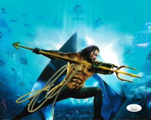 Jason Momoa Aquaman Autographed Signed 8x10 Photo JSA COA #2