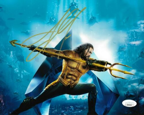 Jason Momoa Aquaman Autographed Signed 8x10 Photo JSA COA #MR259