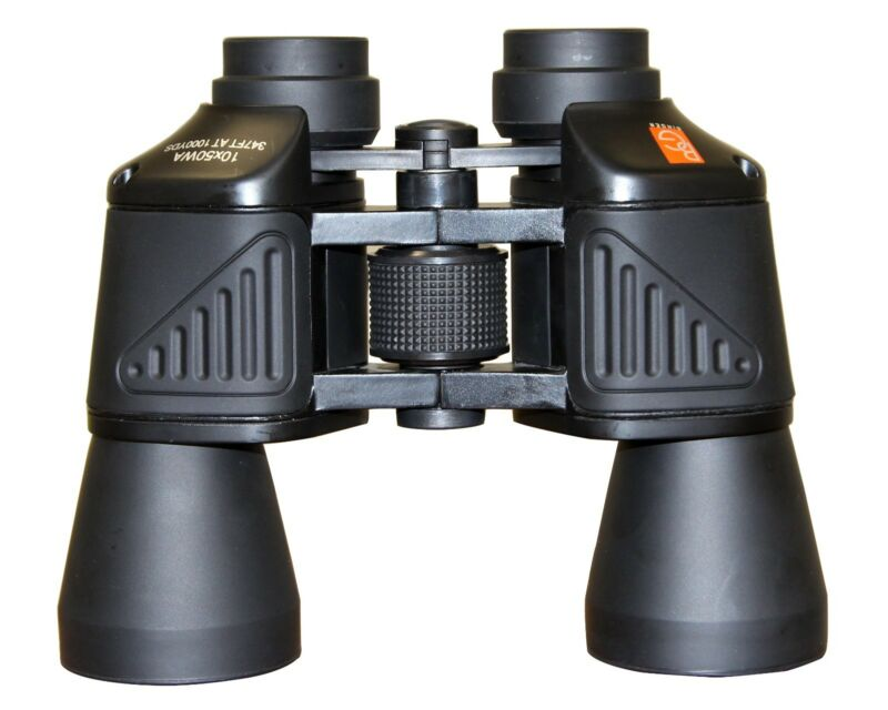 Binger 10x50 wide angle high resolution binoculars for birding hiking boating