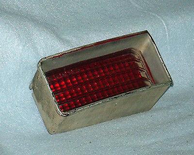 1970 Chevrolet Full Size Left Hand Tail Light Lens Used OEM Guide 16 SAE STI 70